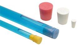 Tappi in spugna silicone, diversi colori