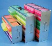 Rack orizzontale in acciaio inox, per scatole crio EPPi 50