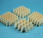 Alveari cartone plastificato per crioscatole