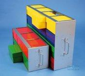Rack orizzontale in acciaio inox, per ALPHA-Boxes