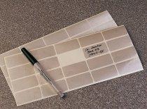 Nalgene® Crio -Box in PC, griglia numerica, posti 10x10