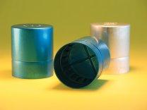 ABIS* Tappi, in alluminio anodizzato, per matracci Erlenmeyer