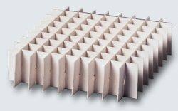 Alveari in cartone idrorepellente, altezza mm 25