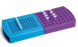 Portaprovette Roto-Rack®, in PP griglia alfanumerica, per ml 0,2 -0,5 - 1,5