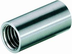 Aste>> Raccordo per con filettatura M 10 acciaio inox